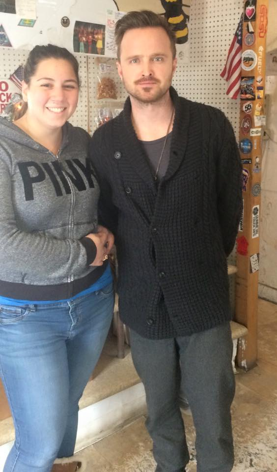 Aaron Paul and I