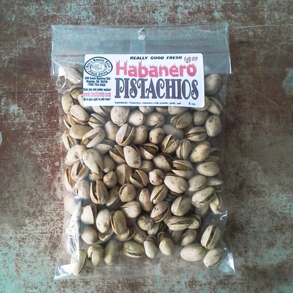 Habanero Pistachios