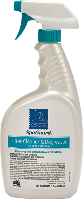 SpaGuard Filter Cleaner Spray 32 oz - LOWEST PRICE