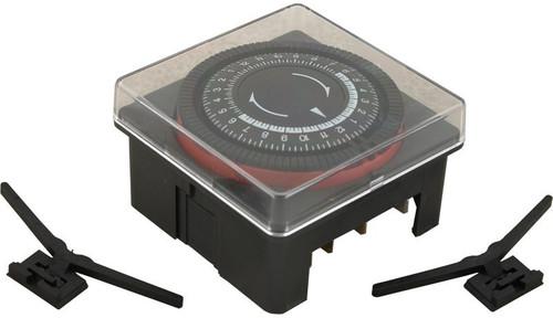 6560-859 Diehl 24Hr Time Clock SPST 240 Volt w/Housing