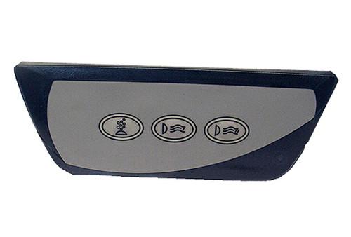 6600-861 Sundance Spa Side Control, Remote, 2000-2005, 850 Series, 2 Pump