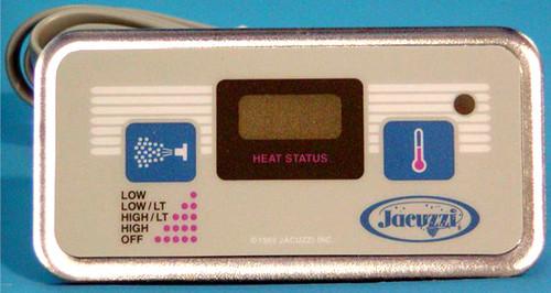 2500-154 Jacuzzi Echo 2-Button Digital Control Panel
