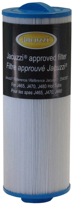 "2540-387 Jacuzzi ProClear II Filter Cartridge, 2009+, Diameter: 4-3/4"", Length: 12-1/2"""