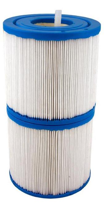 "Spa Filter Baleen: AK-3023, OEM: 17-2606, 817-3510, Pleatco: PRB17.5SF-PAIR , Unicel: C-4401 , Filbur: FC-2386, Diameter: 4-15/16"", Length: 4-5/8"""