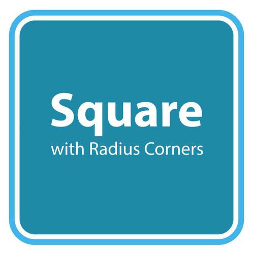 Square with Radius Corners Spa Cover