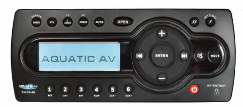 6500-555 Receiver: AM/FM/iPod Aquatic