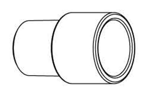 """6000-414 Pipe Extender 0.75"""" PVC"""