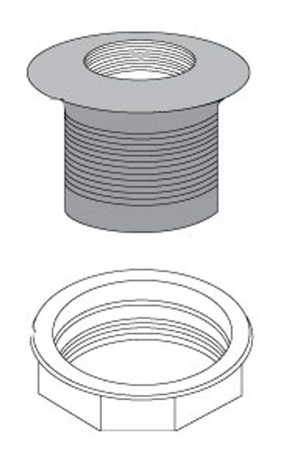 """309049 1.5"""" Filter Fitting (includes nut)"""