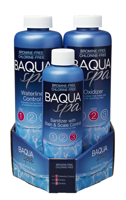 Baqua Spa 3 Part Introductory Pack-ADD 3 OR MORE FOR DISCOUNT
