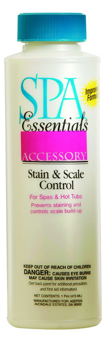 Spa Essentials Stain & Scale Control 16 oz $15.99 - LOWEST PRICING