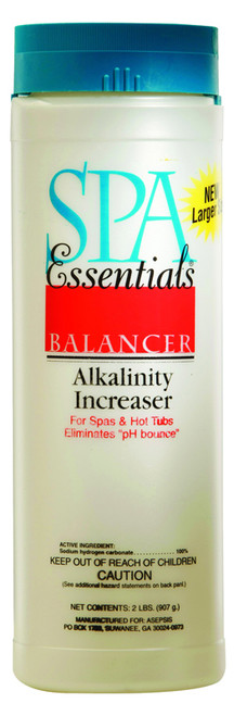 Spa Essentials Alkalinity Increaser 2 lbs $6.99 - LOWEST PRICING