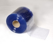 "Bulk 6"" Cooler Strip Curtain Roll - SMOOTH"