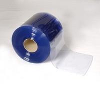 "Bulk 8"" Cooler Strip Curtain Roll - SMOOTH"