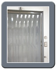 "40"" x 84"" - Walk-In Freezer Strip Curtain"