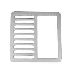 111526, 11-1526, Top Grate Cover  1/2, Top Grate Cover  1/2 - 11-1526, Drains and Accessories, Top Grate Covers, ,