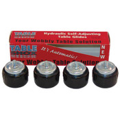 263821, 26-3821, Leveler Glide, 4/Pk, Leveler Glide, 4/Pk - 26-3821, Levelers and Glides, Table Shox Self-Leveling Glide, ,