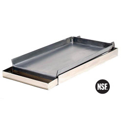 761150, 76-1150, 2 Range Burner Griddle, 2 Range Burner Griddle - 76-1150, Griddles & Broilers, Add-on Griddle Tops, ROCKY MOUNTAIN COOKWARE , RMCMC12-8