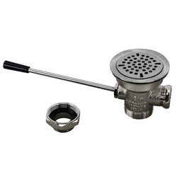 """1001012, 100-1012, Waste Drain - 3-1/2"""", Waste Drain - 3-1/2"""" - 100-1012, Drains and Accessories, Lever Drains, ,"""