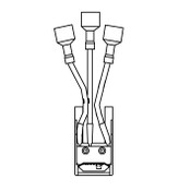 Kason 1367R Micro Switch - 3 Leads - 11367S00010