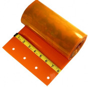 "Custom Replacement Strip - 8"" Wide - ORANGE - Cooler, Smooth"