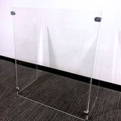 U-Shape Acrylic Safety Barrier (GGUSASB)