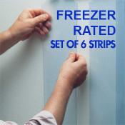Kason Easimount Freezer Replacement Strips- set of 6