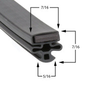 22 3/4 x 56 Nor-Lake Gasket