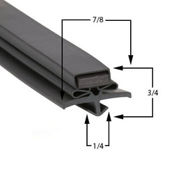 17 1/2 x 26 Gasket Compatible with True Mfg 810780