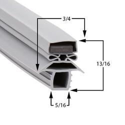 23 1/2 x 29 1/2 - Profile 691 Traulsen Gasket