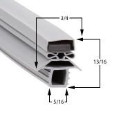 23 1/2 x 23 1/2 - Profile 691 Traulsen Gasket