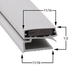 19 3/4 x 28 3/4 Atlas Metal Gasket