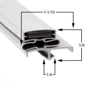 36 1/2 x 76 1/4 American Panel Gasket