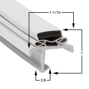 36 3/8 x 77 1/4 American Panel Gasket