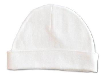 White Baby Beanie Hat