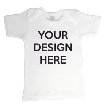 Design Your Own Personalised Baby T-shirt