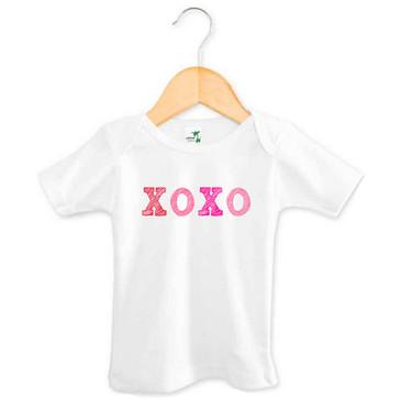 XOXO Kiss Hug Baby Girl Tee