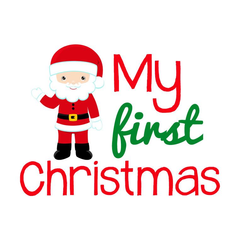 My First Christmas.Santa My First Christmas Tee