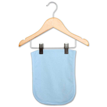 Blue Baby Burp Cloth