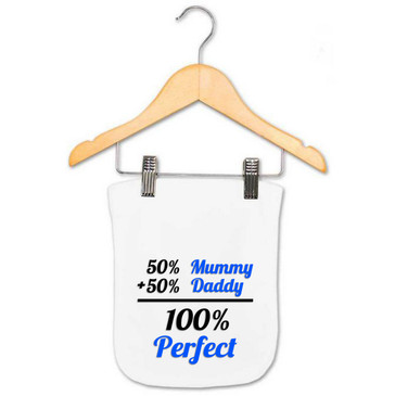 Baby Boy 100% Perfect Burp Cloth
