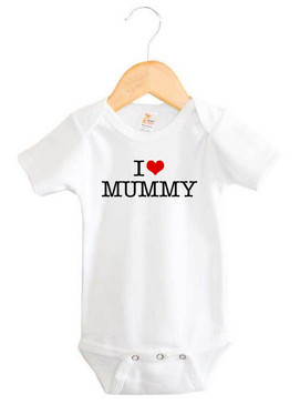 I Heart Mummy Baby Onesie
