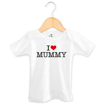I Heart Mummy Baby Tee