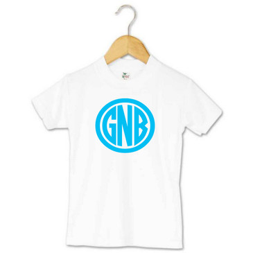 Personalised Monogram Toddler Tee - GNB