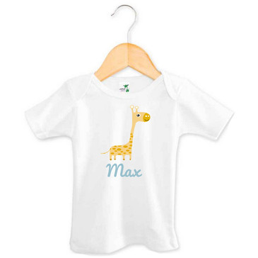 Personalised Toddler Name Giraffe Tee