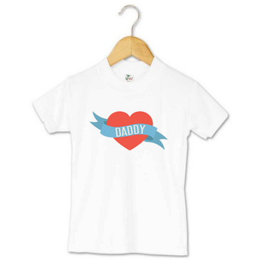 Love Heart Daddy Toddler Tee