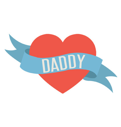 Love Heart Daddy Baby Tee Baby Gifts Word On Baby