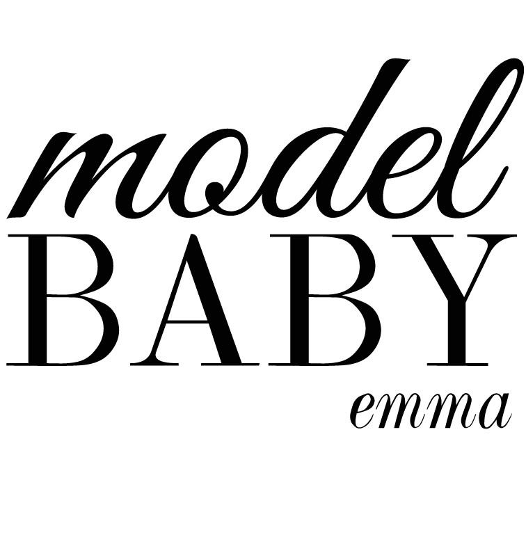 Personalised Model Baby Dress - Emma