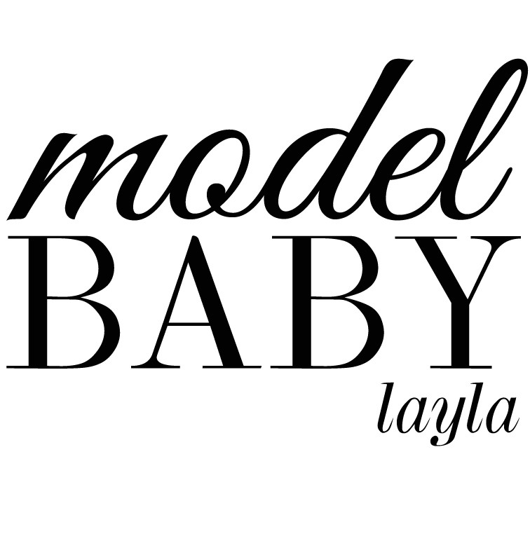 Personalised Model Baby Dress - Layla