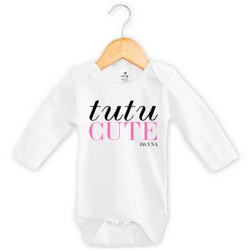 Personalised Tutu Cute Baby Onesie - Dayna