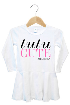 Personalised Tutu Cute Baby Dress - Arabella