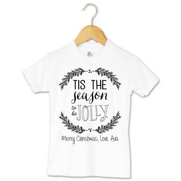 d6d8617db52 Baby Unisex Toddler Tee Tis the season to be jolly personalised  08134.1414496294.600.600.jpg c 2